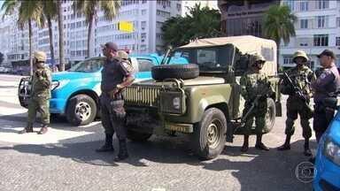 Exército, Marinha e Aeronáutica fazem treinamento especial para a Olimpíada - No Rio de Janeiro, homens Exército, Marinha e Aeronáutica fizeram neste sábado, uma série de treinamentos especiais para a Olimpíada do Rio.