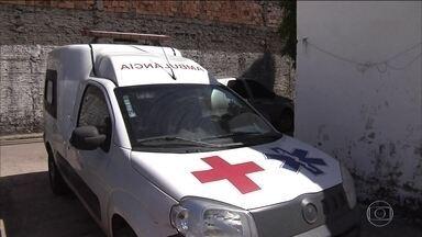 Ambulâncias são alvos de assaltos no Maranhão - Os bandidos roubam doentes que precisam ser transferidos de hospital.