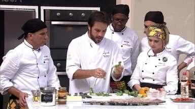 Workshop Papillote - Chef Elia Schramm prepara dois deliciosos pratos quentes e mostra que a técnica também pode ser usada para sobremesa