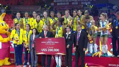 Grand Prix de Vôlei - Brasil x Estados Unidos – Final