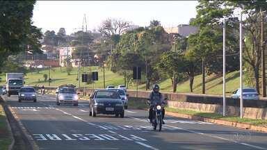 Números de acidentes cai quase pela metade com a fiscalização eletrônica em Londrina - Os novos radares foram instalados no começo de junho.