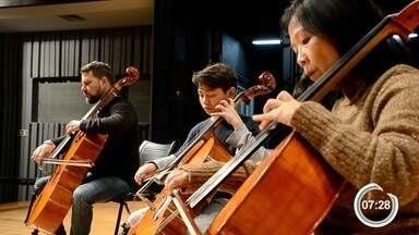 Família se dedica à música clássica - Festival de Inverno reúne histórias de músicos.