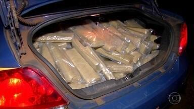 Drogas apreendidas em 2016 no MS já somam quase 100 toneladas - Grande parte das drogas estavam esquecidas em carros e caminhões apreendidos e leiloados pela polícia.