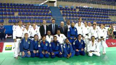 Seleção do Judô participa de treinamento no Centro Panamericano, em Lauro de Freitas - A equipe finaliza a preparação para as Olimpíadas do Rio.