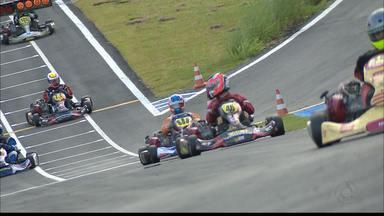 Brasileiro de Kart vai chegando a sua reta final - Segunda bateria classificatória e pré-final acontecem nesta sexta-feira.