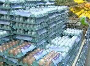 Ovo fica mais caro no Oeste Paulista - Saiba quais os alimentos que estão mais baratos nas feiras