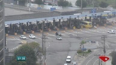 Trânsito: férias diminuem fluxo de carros em Vitória - Praça do pedágio, Reta da Penha e 2ª ponte têm trânsito tranquilo.