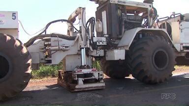 Buscas por petróleo no Paraná chegam a Apucarana - Os testes já foram feitos em outros municípios da região, causaram a transtornos e por isso estão suspensos dentro das cidades. Agora é pesquisa é concentrada na zona rural.