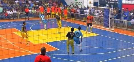 Mutuense goleia o Itiquira e garante vaga na final da Copa Centro América de Futsal - Mutuense goleia o Itiquira e garante vaga na final da Copa Centro América de Futsal