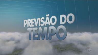Previsão do tempo para esta terça-feira é de sol - Temperaturas em Campinas (SP) ficam entre 13°C e 28°C.