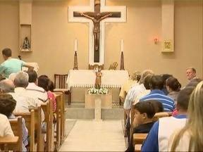São Cristóvão é homenageado em capela de Prudente - Nesta segunda-feira (25) é comemorado o Dia do Motorista.