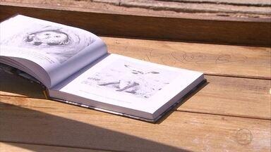 Campanha deixa livros pelo Recife para incentivar à leitura - Exemplares são deixados com bilhete explicando que o livro não foi esquecido.