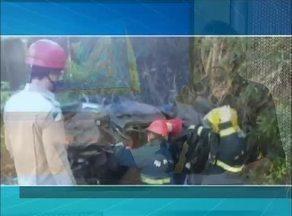 Três pessoas morrem em acidente na TO-373 após motorista perder o controle - Três pessoas morrem em acidente na TO-373 após motorista perder o controle