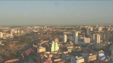 Temperatura máxima em Campinas será de 24ªC - Meteorologia diz que não vai chover hoje.