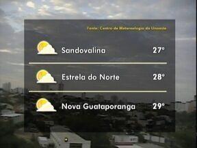 Massa de ar seco continua a predominar no Oeste Paulista - Veja como ficam as previsões para algumas cidades.