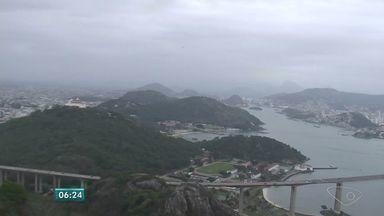 Veja como fica o tempo no Espírito Santo nesta quinta-feira (28) - Passagem de uma frente fria pelo litoral capixaba aumenta a quantidade de nuvens.