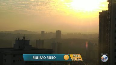 Previsão de tempo quente e seco na região de Ribeirão Preto - Temperatura máxima deve chegar a 31ºC, segundo meteorologistas.