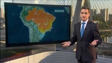 Sul e Sudeste seguem com alerta de ressaca - Confira a previsão do tempo para todo o Brasil desta quinta-feira (28).