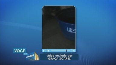 Moradora denuncia racionamento de água no bairro Tucumanzal, em Porto Velho - Denúncia diz que problema existe há seis meses.