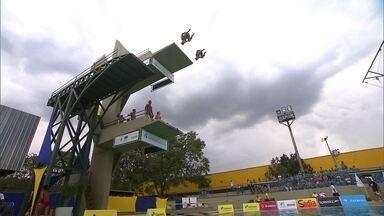 Conheça dois atletas brasilienses esperados nos saltos ornamentais - César Castro e Hugo Parisi são as promessas brasilienses nos saltos ornamentais durante a Olimpíada.