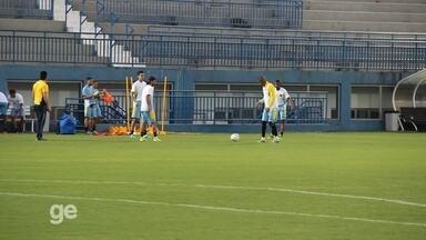 Colômbia realiza primeiro treino no estádioi da Colina, em Manaus - Colombianos se preparam para dois jogos pela Olimpíada Rio 2016. Na quarta contra a Suécia e, no dia 7, contra o Japão.
