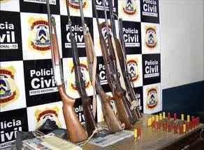 Vigilante do fórum confessa roubo de 35 armas - Vigilante do fórum confessa roubo de 35 armas