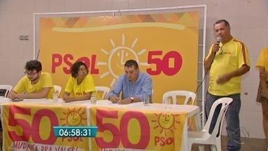 PSOL apresenta Rosana Santos como candidata à prefeitura de Campo Grande - Henrique Nascimento da Silva entra na chapa como candidato a vice-prefeito.