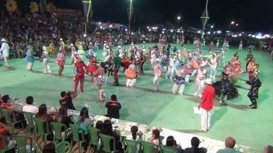 Manicoré, no AM, realiza festival de quadrilhas - Ao todo, seis quadrilhas participaram do evento realizado no fim de semana.