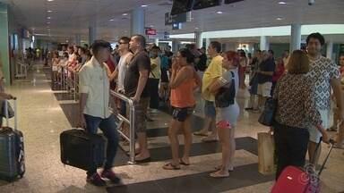 Aeroporto espera aumento de 20% no fluxo durante Olimpíada em Manaus - Cerca de 234 mil pessoas devem passar pelo aeroporto, segundo Infraero.