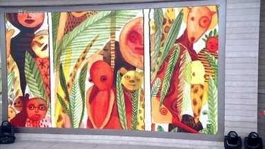 'Telão do Encontro': Maria Eugenia mostra suas obras - Ilustradora tem mais de 60 livros para crianças e adultos