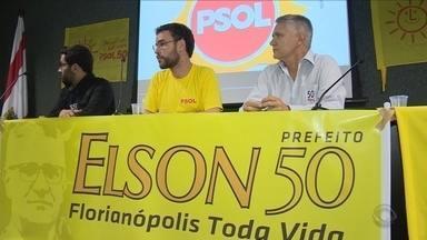 Psol confirma Elson Pereira como candidato à prefeitura de Florianópolis - Psol confirma Elson Pereira como candidato à prefeitura de Florianópolis