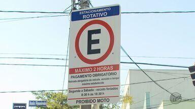 Área 2 de estacionamento da Zona Azul passa a valer em Poços de Caldas (MG) - Área 2 de estacionamento da Zona Azul passa a valer em Poços de Caldas (MG)