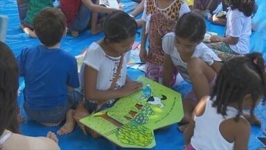 Projeto 'Leitura no Sítio' completa 10 anos - Projeto atende crianças no bairro Triângulo, em Porto Velho.