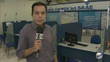 Saae de São Carlos começa a cadastrar clientes para ressarcimento de taxa - Pagamento foi anunciado na última quarta-feira (27), durante entrevista coletiva.
