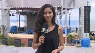 Anfiteatro da Ponta Negra, em Manaus, recebe Live Site - Evento será realizado durante os jogos olímpicos.
