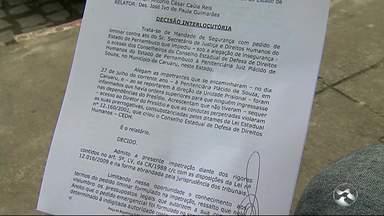 Comissão de Direitos Humanos é proibida de entrar no presídio de Caruaru - Integrantes foram impedidos de entrar pela segunda vez.