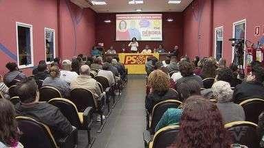 PSOL oficializa nomes de candidatos e prefeito e vice em Santos - Partidos começam a se preparar para o período eleitoral.