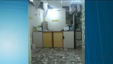 Bandidos explodem agência dos Correios em Boa Vista - Prejuízo mais uma vez para os moradores.