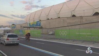 Jogos da olimpíada em Manaus têm início nesta quinta-feira (4) - Capital se prepara com ações de trânsito, segurança e eventos culturais.