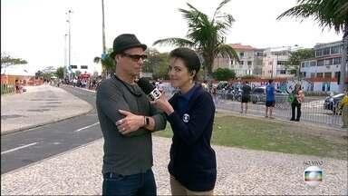 Carlinhos de Jesus vai conduzir a Tocha Olímpica nesta sexta-feira (5) - Carlinos vai participar do revezamento e vai conduzir a tocha em Botafogo.