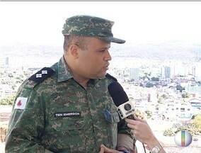 Polícia Militar do Meio Ambiente conscientiza população sobre queimadas - Somente este ano, já foram registradas 133 queimadas no Norte de Minas.