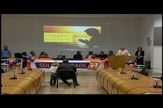 PSC confirma coligações com vários partidos para as eleições em Araxá - Convenção foi realizada nesta quarta-feira (3).Partido vai apoiar candidatura de Mauro Chaves para prefeito.