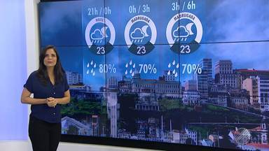 Previsão do Tempo: Salvador deve ter chuva e frio até sexta (5) - Além disso, os ventos estarão mais fortes nas próximas horas.