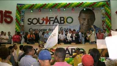 PMDB realiza convenção em São Luís - O Partido do Movimento Democrático Brasileiro (PMDB) realizou nesta quinta-feira (4) em São Luís a sua convenção e escolheu o vereador Fábio Câmara para disputar o cargo de prefeito da capital maranhense.