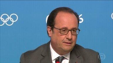 Presidente da França fala sobre candidatura do país aos Jogos de 2024 - François Hollande garantiu que Paris será candidata a sediar a Olimpíada de 2024.