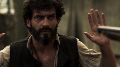 """A Lenda do Mão de Luva – Episódio 3 – """"Riqueza Interior"""" - Mão de Luva tem encontro com o atrapalhado bandido Simão. Será que vai dar certo?"""