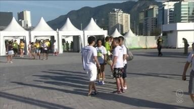 Segundo dia de competições da Rio 2016 tem entrada no Parque Olímpico sem filas - Segundo dia de competições da Rio 2016 tem entrada no Parque Olímpico sem filas