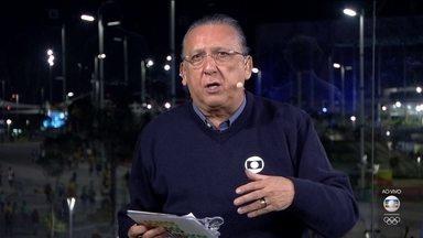 Galvão Bueno critica jogadores da seleção que deixam o campo sem falar com a imprensa - Galvão Bueno critica jogadores da seleção que deixam o campo sem falar com a imprensa