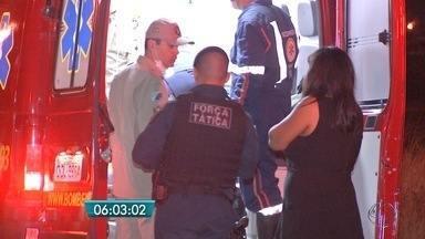 Rapaz é baleado em assalto em Campo Grande - Ele e a namorada foram rendidos no bairro Nova Lima.