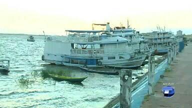 Capitão da Marinha alerta sobre cuidados com ventos fortes pelos rios de Santarém e região - Comandantes de embarcações precisam ficar atentos com as mudanças climáticas.